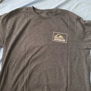 Gray quicksilver shirt